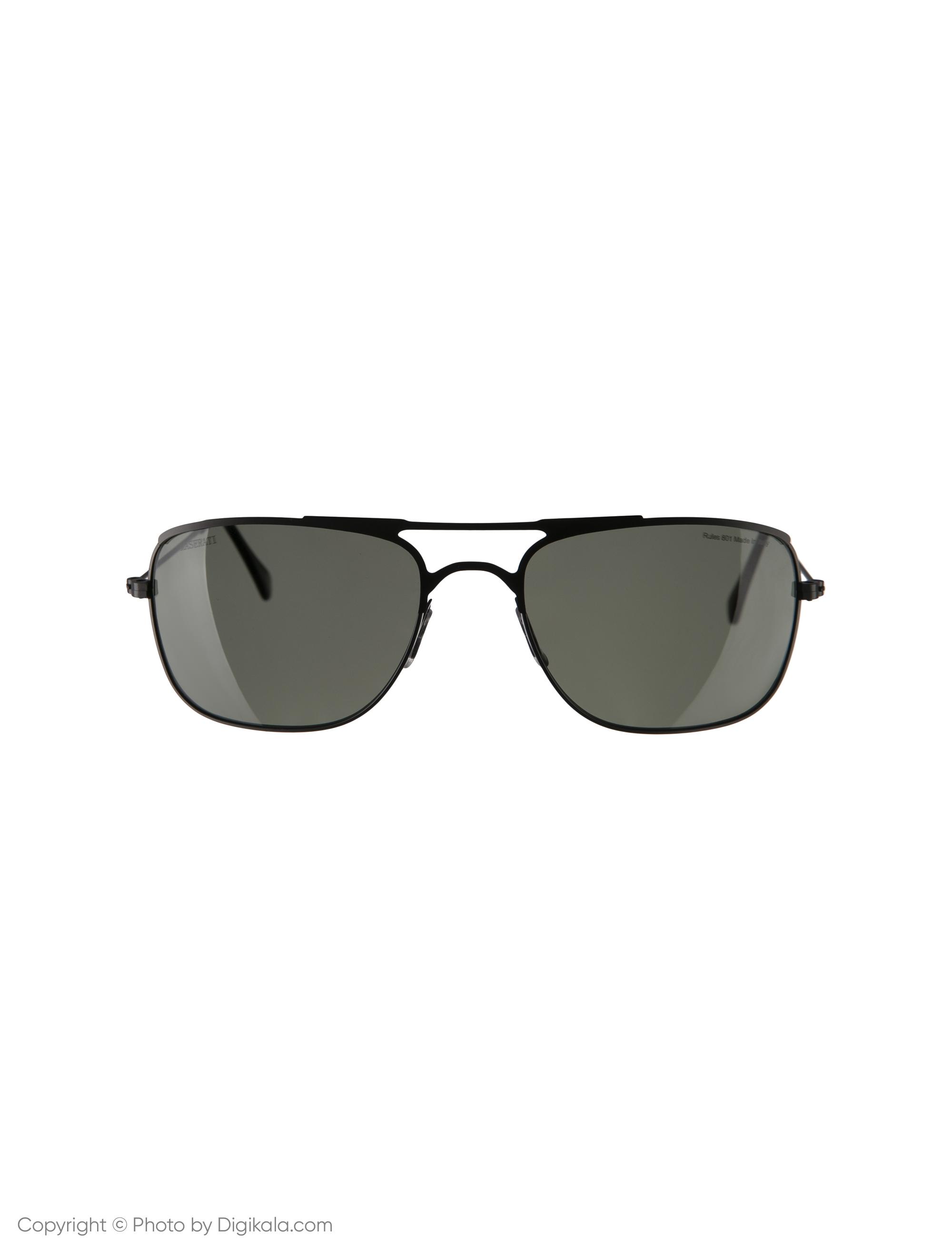 عینک آفتابی مردانه مازراتی مدل Rules-801-DG
