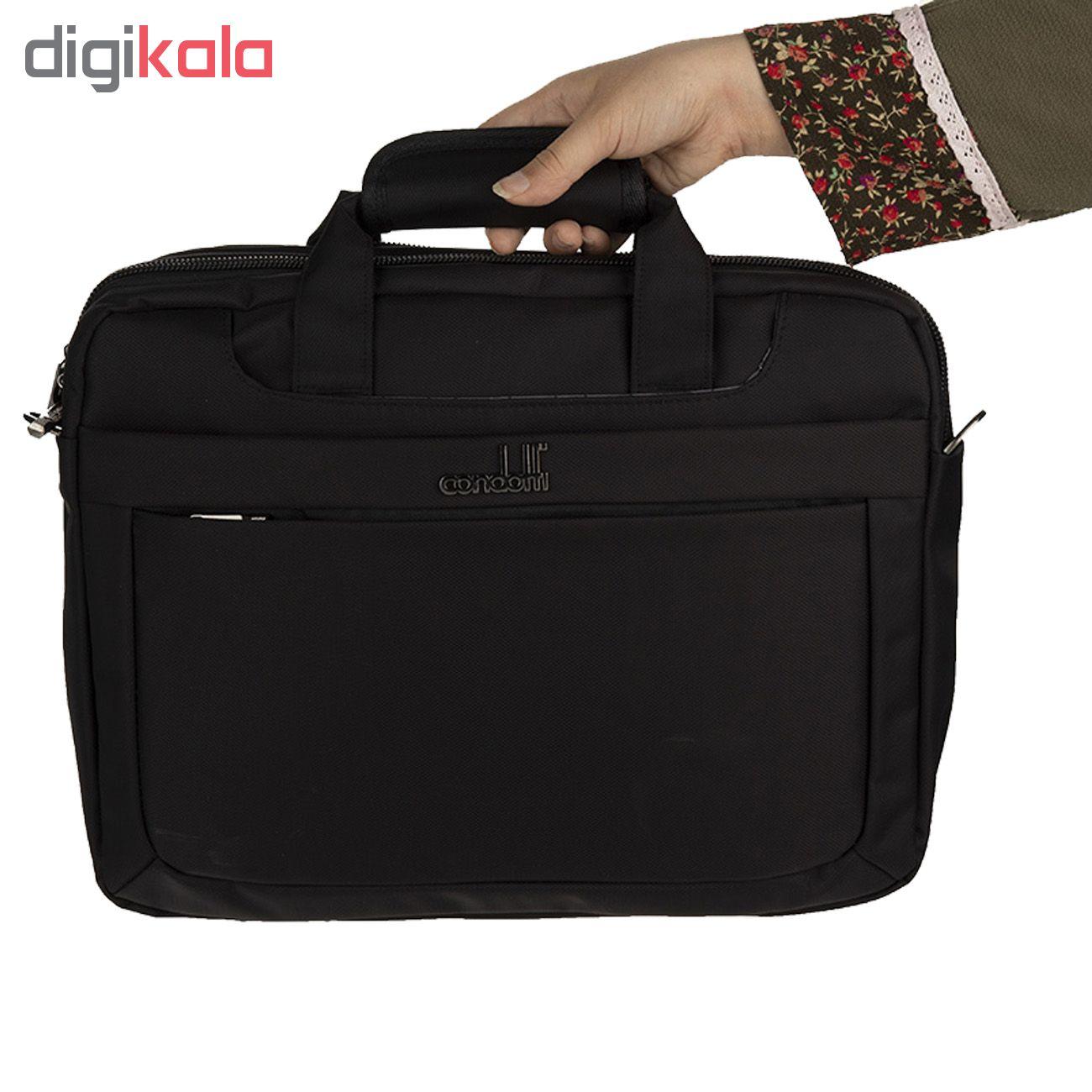 کیف لپ تاپ کندوتی مدل T-600-2 مناسب برای لپ تاپ 15.6 اینچی