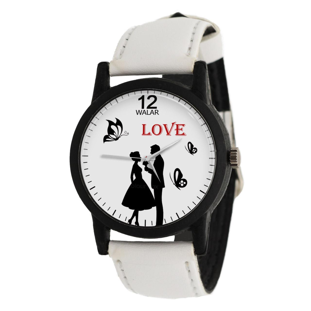 ساعت مچی عقربه ای زنانه والار طرح LOVE مدل LF1431