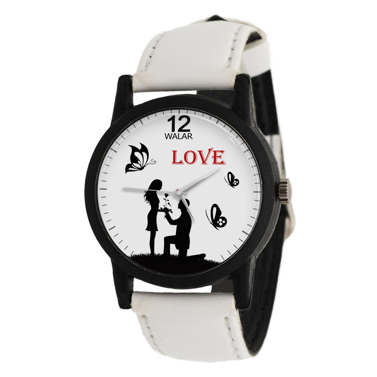 ساعت مچی عقربه ای زنانه والار طرح LOVE مدل LF1432