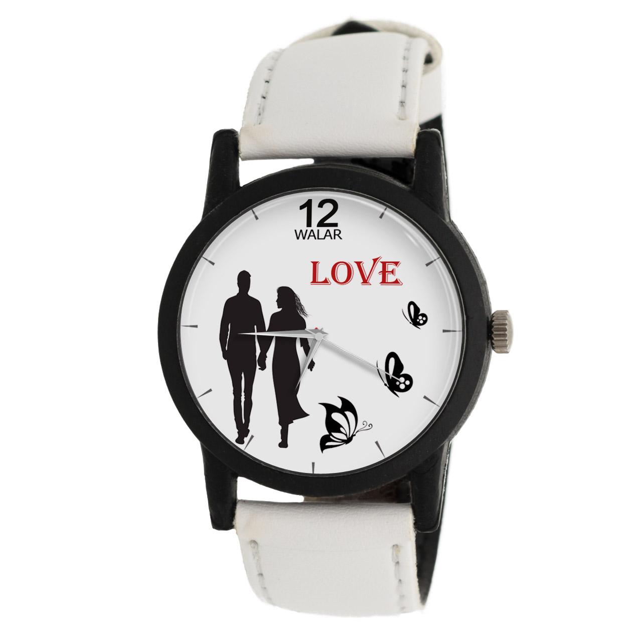 ساعت مچی عقربه ای زنانه والار طرح LOVE مدل LF1433