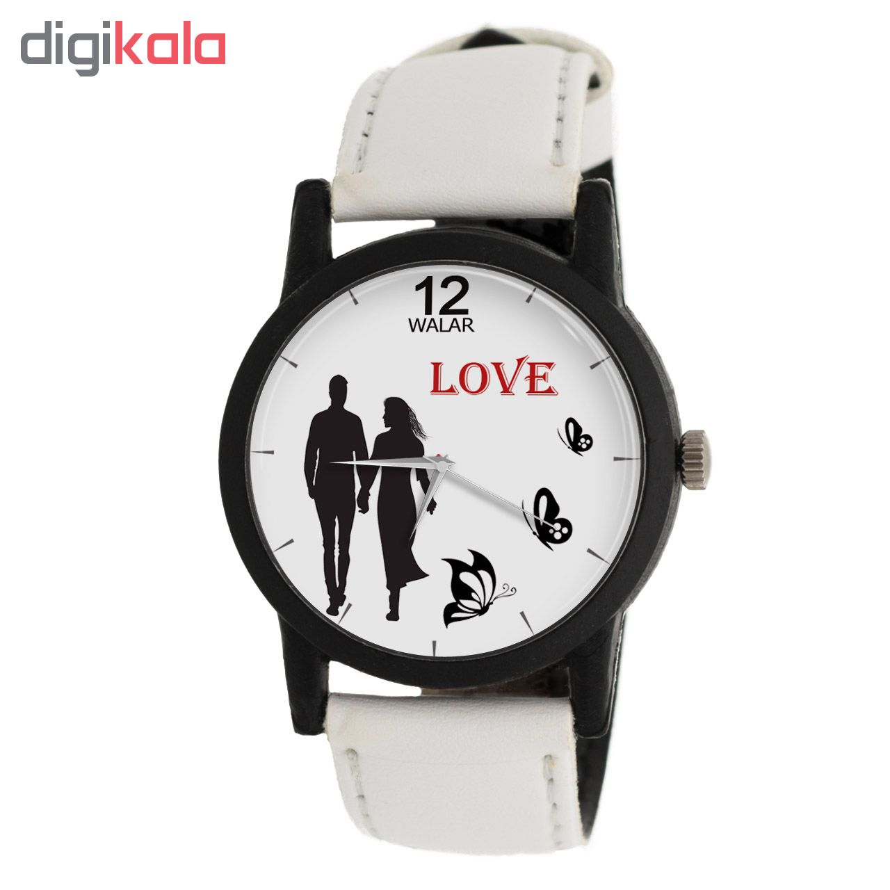 ساعت زنانه برند والار طرح LOVE مدل LF1433