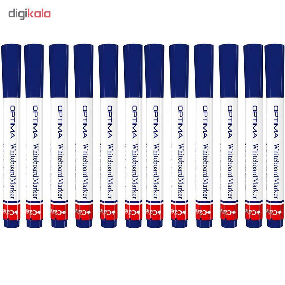 ماژیک وایت برد کنکو مدل اپتیما بسته ی 12 عددی main 1 1