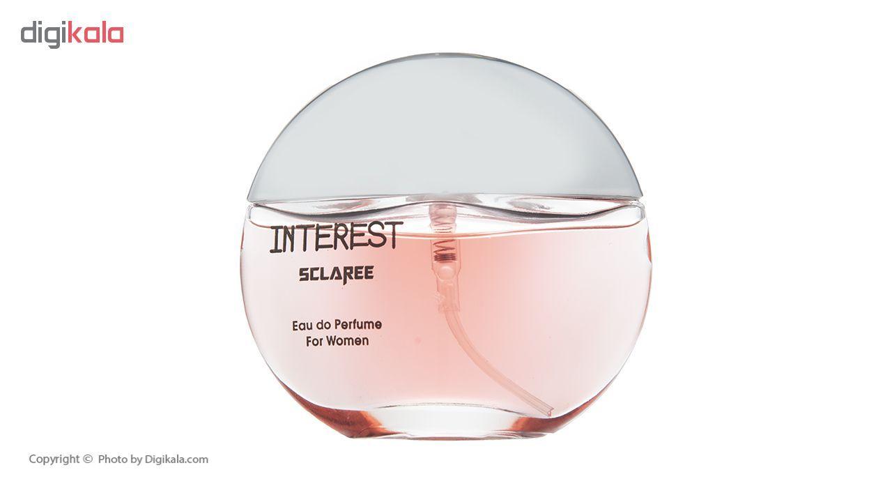 ادو پرفیوم زنانه اسکلاره مدل Perfume Interest حجم 55 میلی لیتر  Sclaree Perfume Interest Eau De parf