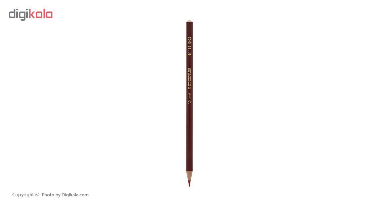 مداد مشکی و قرمز استدلر مدل Camel بسته 3 عددی main 1 2
