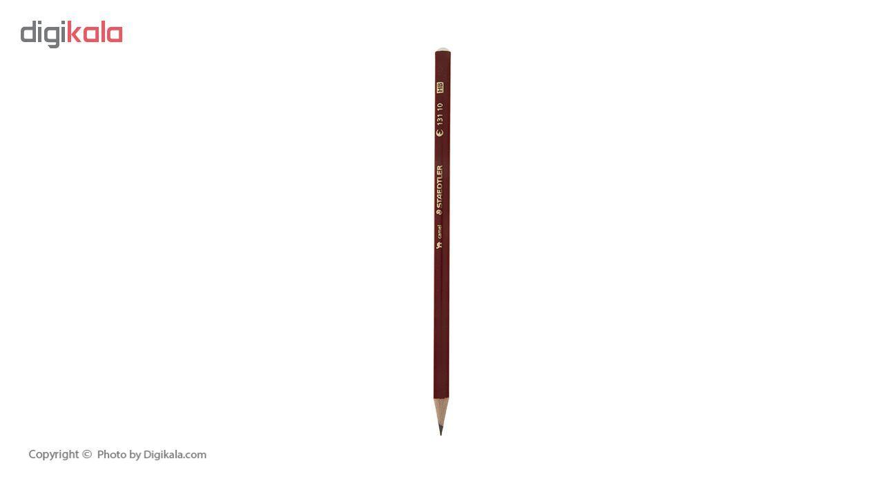 مداد مشکی و قرمز استدلر مدل Camel بسته 3 عددی main 1 3