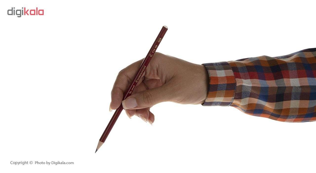 مداد مشکی و قرمز استدلر مدل Camel بسته 3 عددی main 1 7