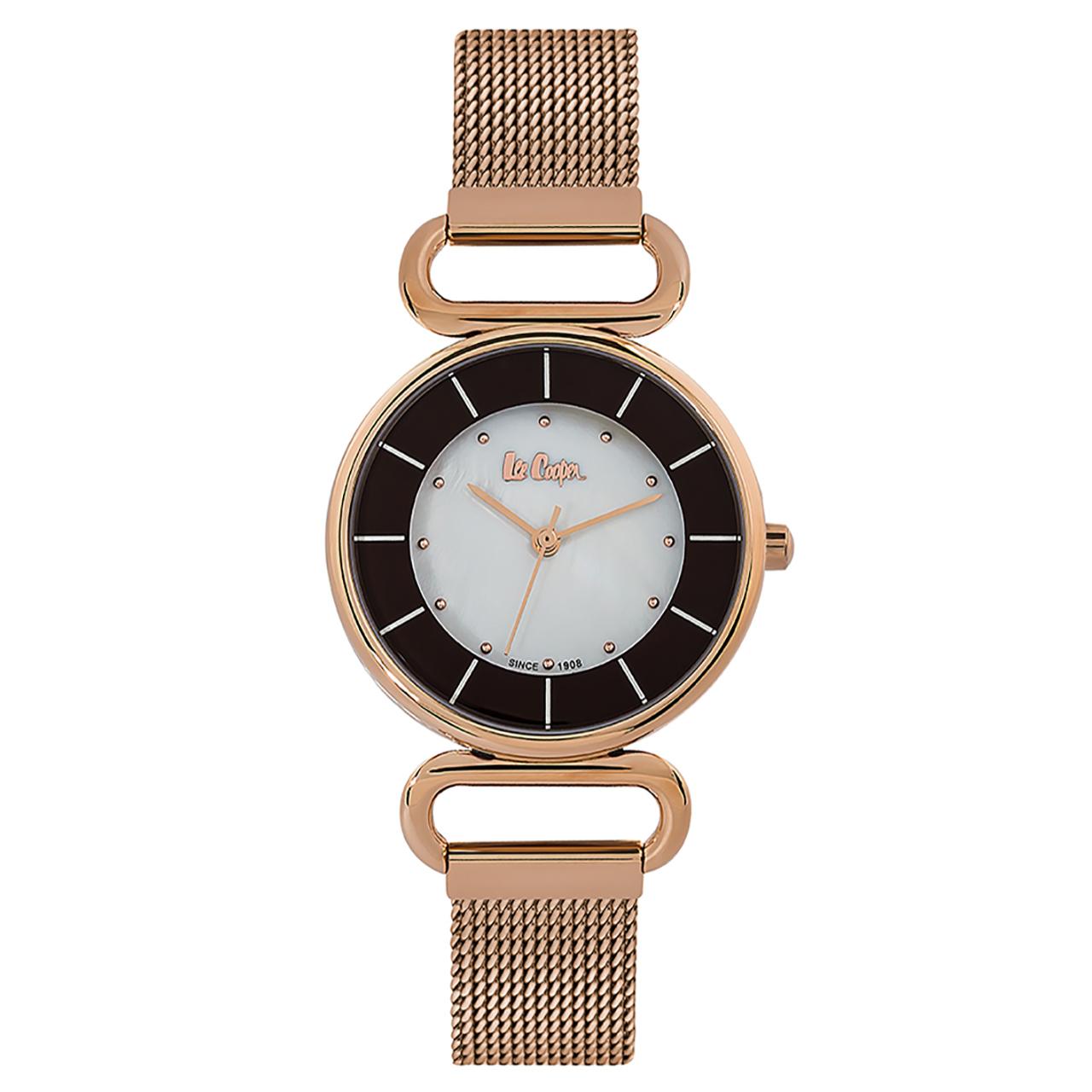 ساعت مچی عقربه ای زنانه لی کوپر مدل LC06476.420