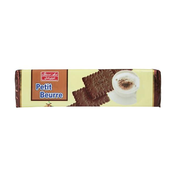 بیسکوئیت کاکائویی پتی بور وزن 125 گرم