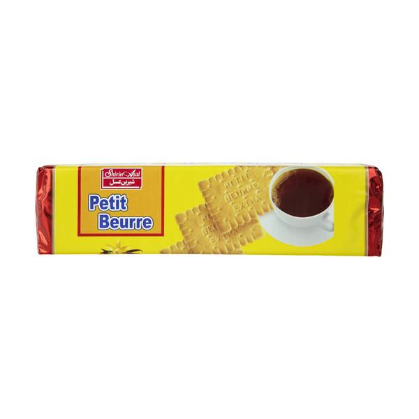 بیسکویت پتی بور شیرین عسل با طعم وانیل مقدار 125 گرم