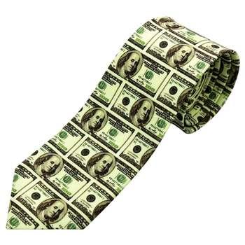 کراوات مردانه طرح دلار کد 06