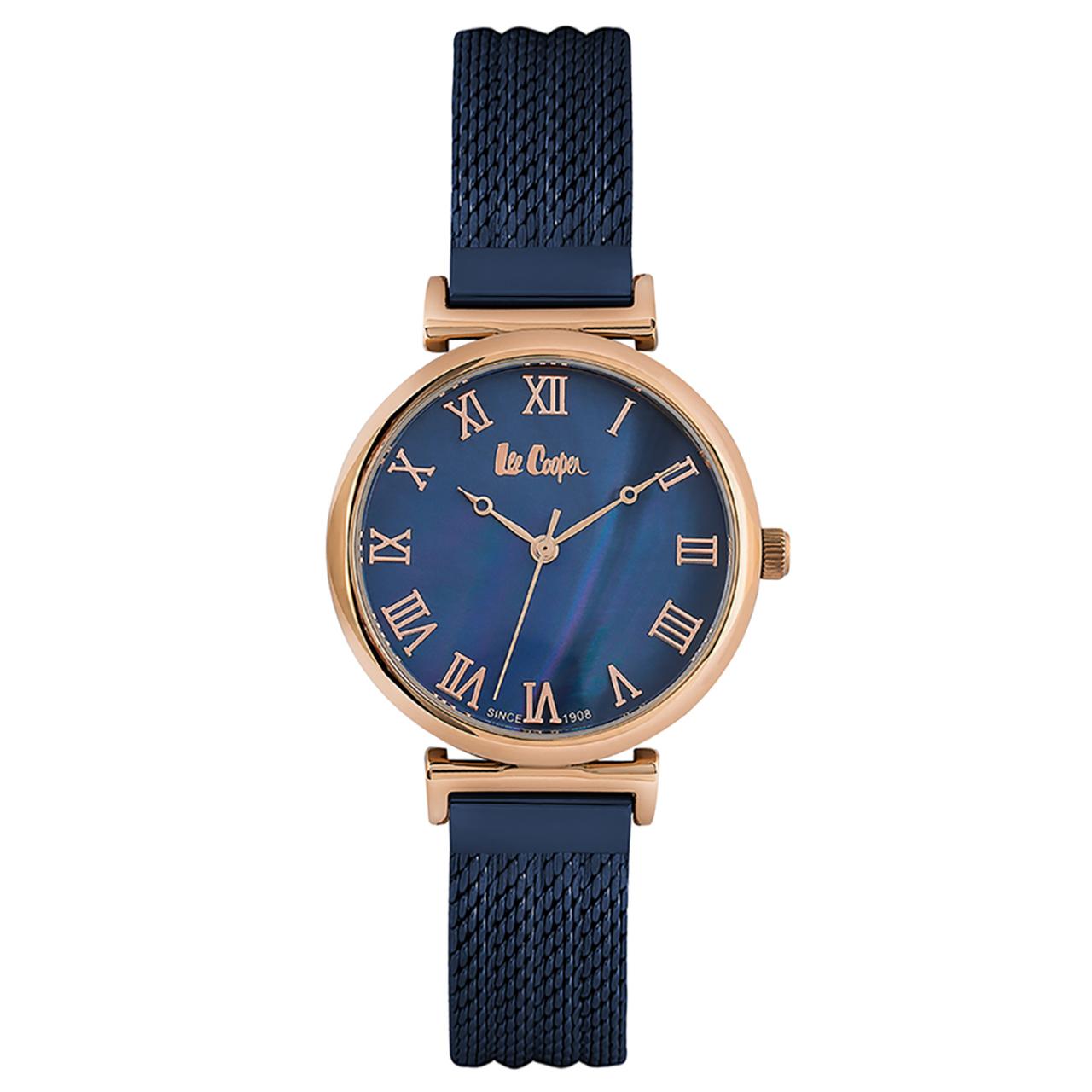 ساعت مچی عقربه ای زنانه لی کوپر مدل LC06561.490