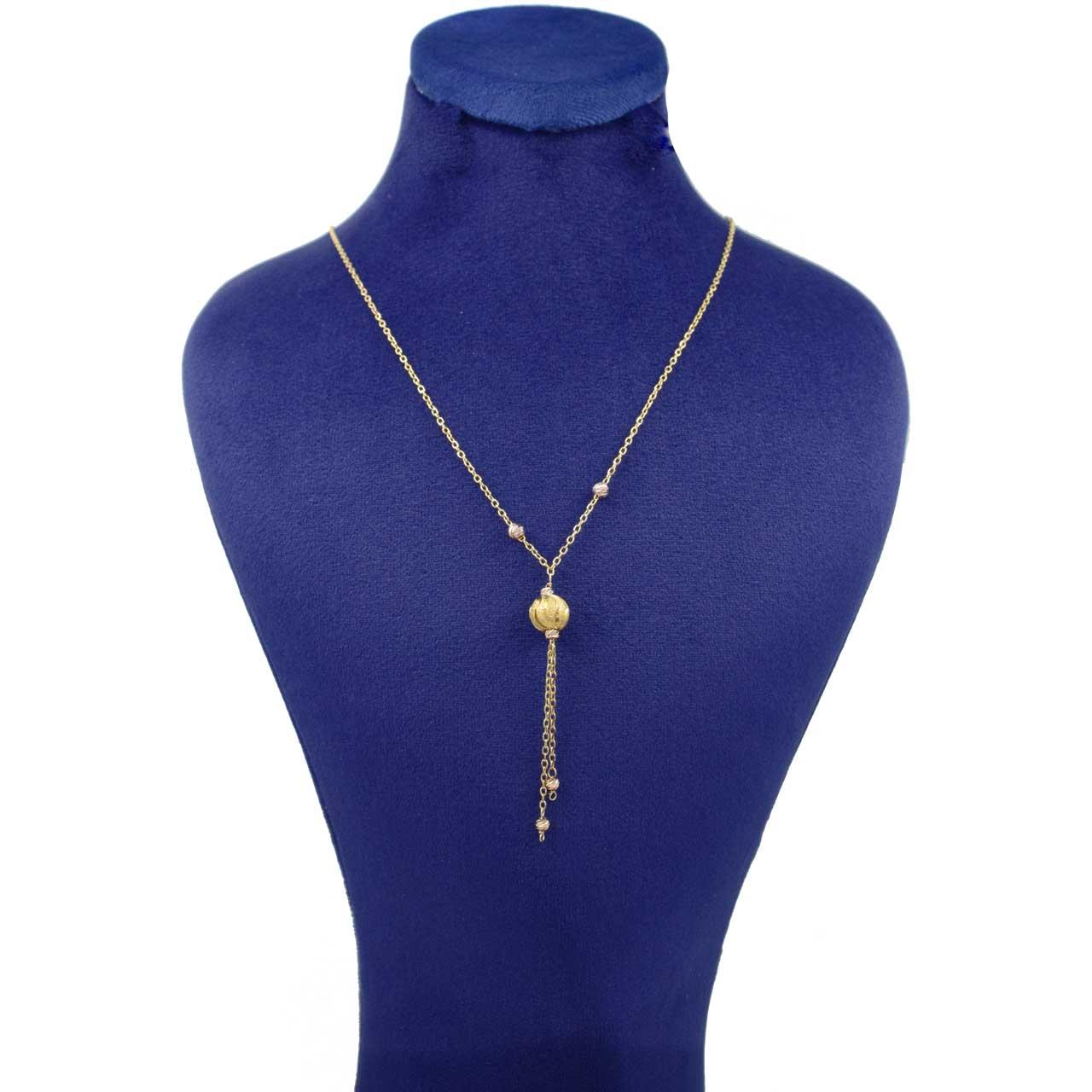 قیمت گردنبند طلا 18 عیار زنانه کانیار گالری مدل GA511