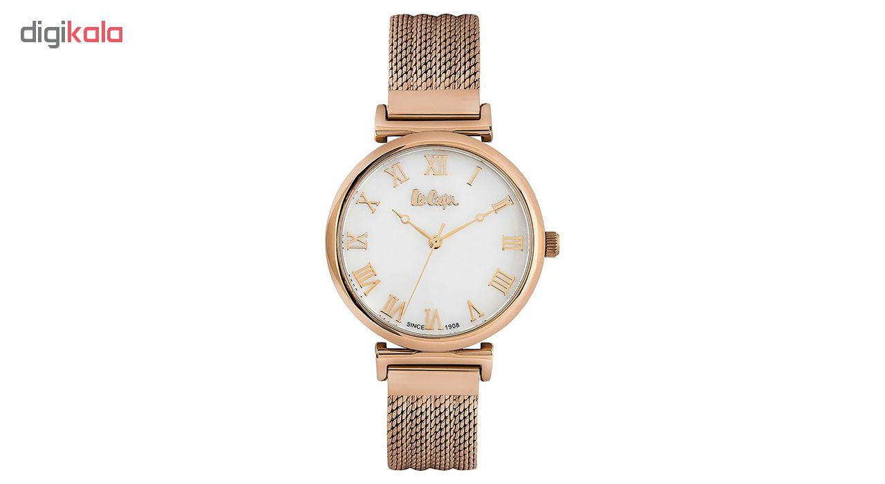 ساعت مچی عقربه ای زنانه لی کوپر مدل LC06561.420