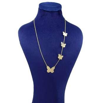 گردنبند طلا 18 عیار زنانه کانیار گالری کد GA5122