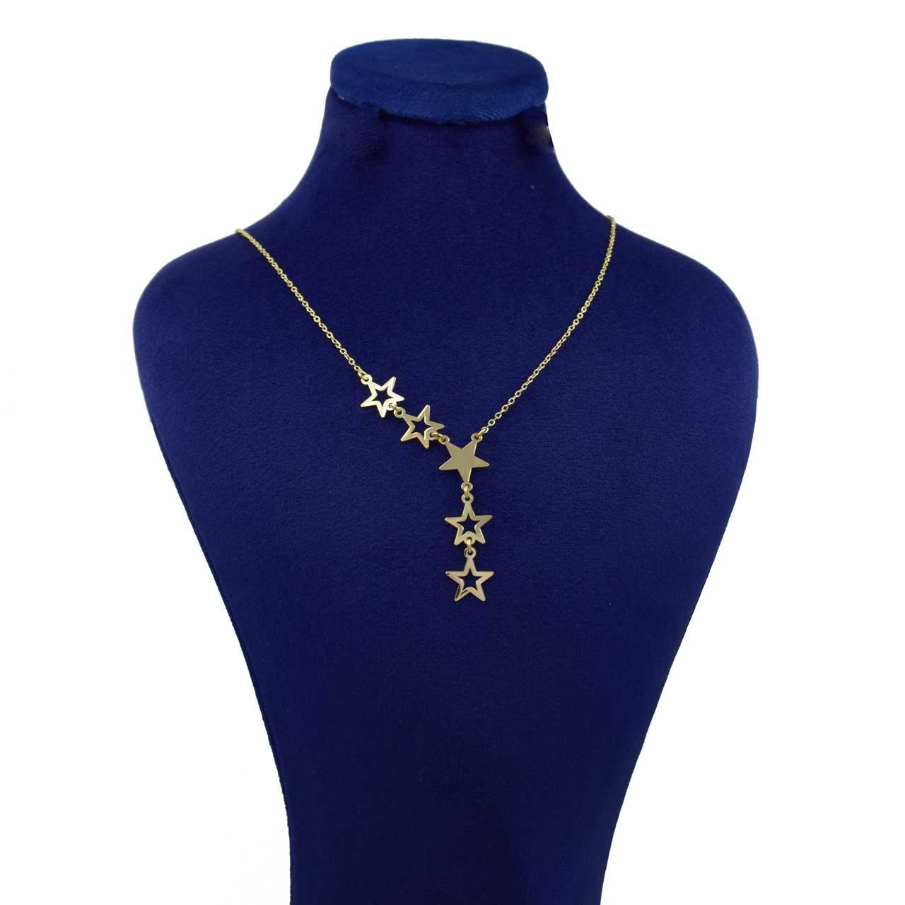 گردنبند طلا 18 عیار زنانه کانیار گالری کد GA5144