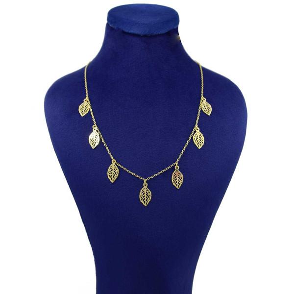 گردنبند طلا 18 عیار زنانه کانیار گالری کد GA5155