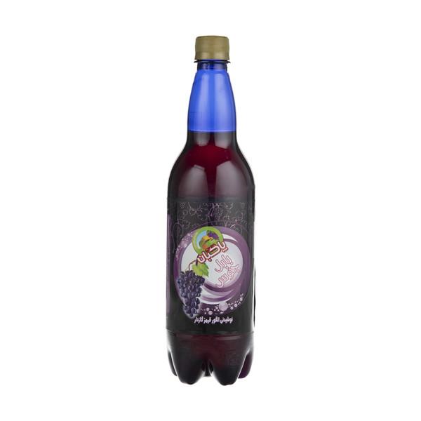 نوشیدنی انگور قرمز گازدار پاکبان - 1 لیتر