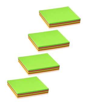 کاغذ یادداشت چسبدار مدل S22 کد 202 بسته 4 عددی