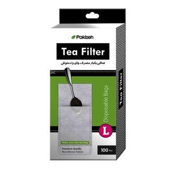 صافی چای و دمنوش یکبار مصرف بسته 100 عددی