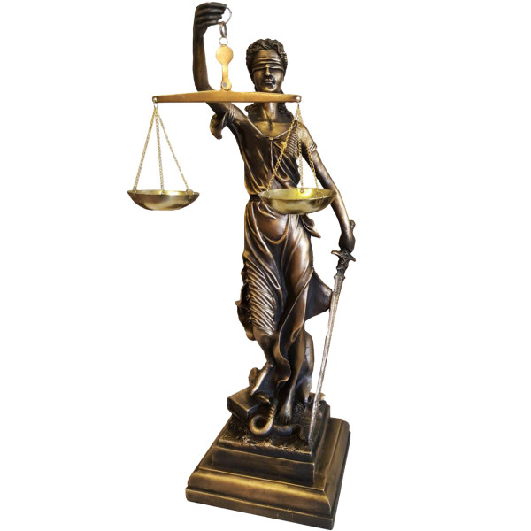 مجسمه لیپار مدل عدالت DKH-7100S