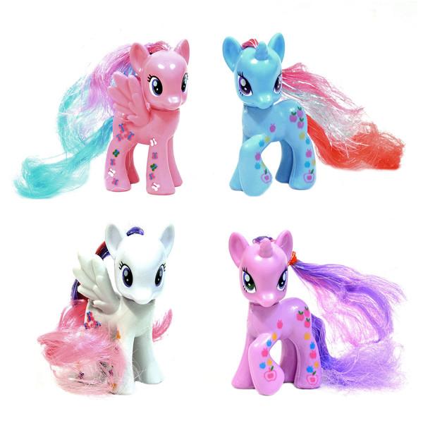 عروسک طرح اسب پونی مدل Tooka Pony143 مجموعه 4عددی