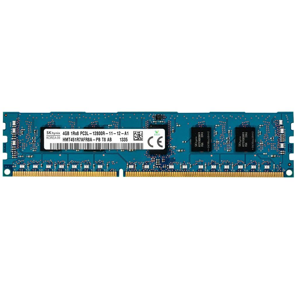 رم سرور DDR3 تک کاناله 1600 مگاهرتز CL12 اس کی هاینیکس مدل HMT451R7AFR8A-PB ظرفیت 4 گیگابایت