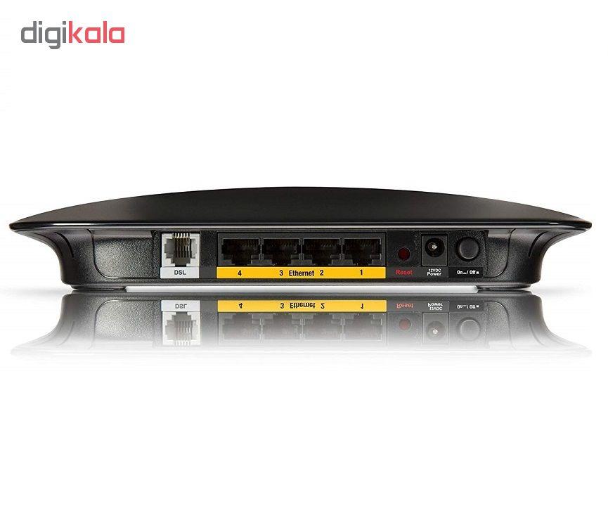 مودم روتر ADSL2 Plus بی سیم  لینکسیس مدل WAG120N