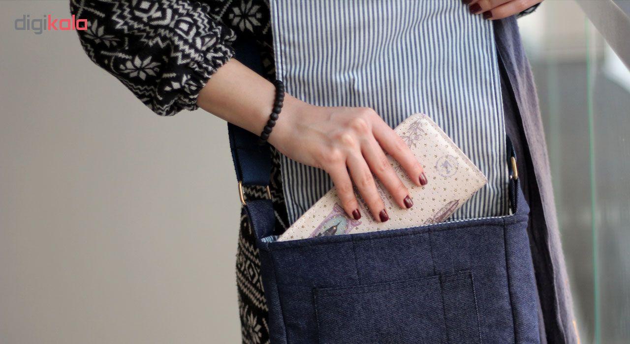 کیف دوشی زنانه گالری چی چاپ طرح BTS کد 65875