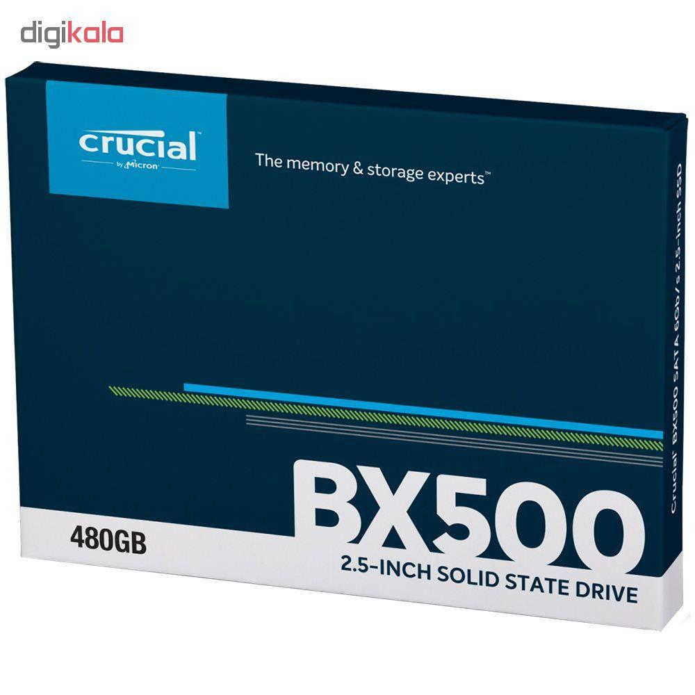 اس اس دی اینترنال کروشیال مدل BX500 ظرفیت 480 گیگابایت main 1 2