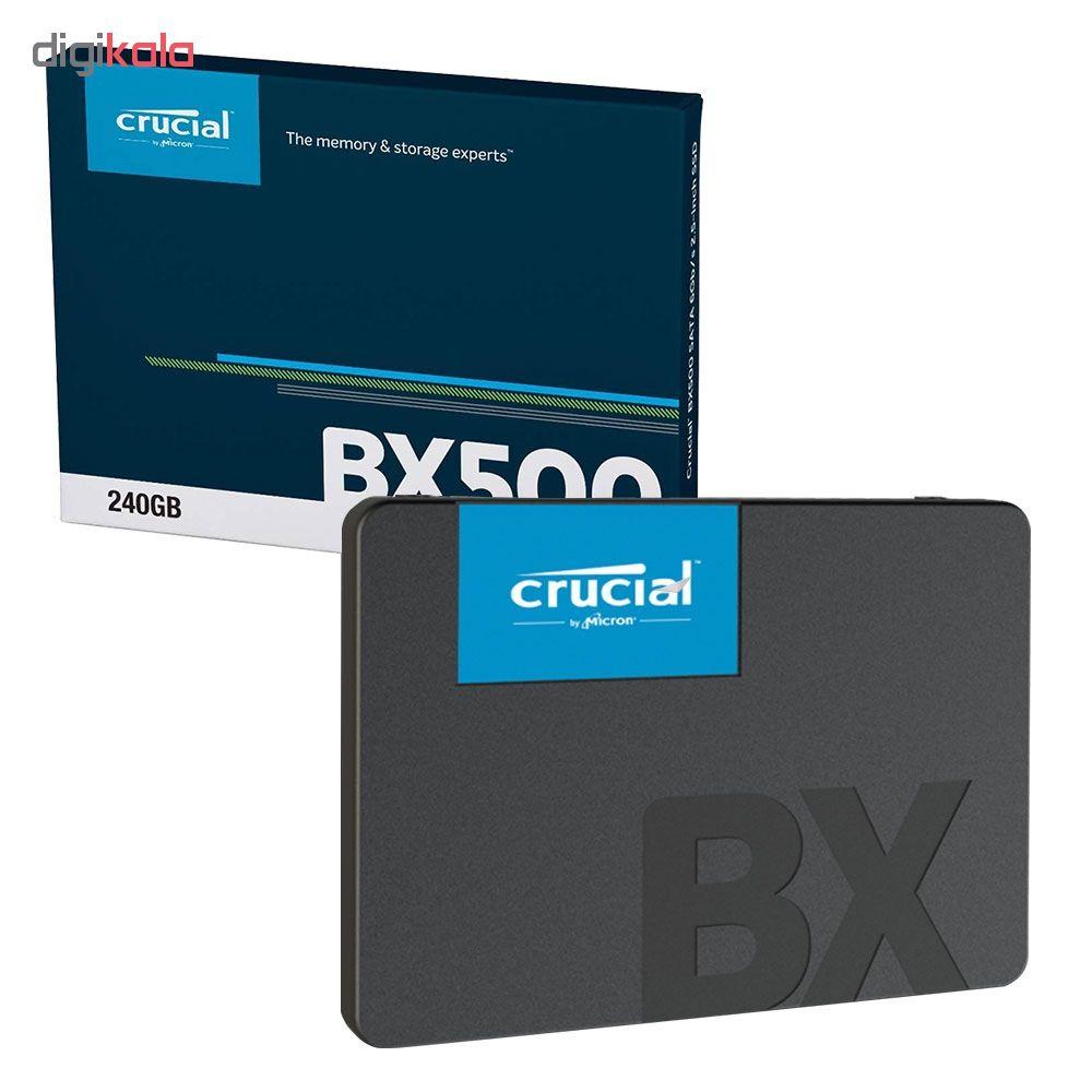 اس اس دی اینترنال کروشیال مدل BX500 ظرفیت 240 گیگابایت