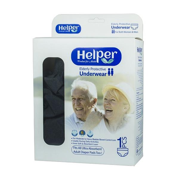 پوشینه بزرگسال هلپر مدل large بسته 1 عددی