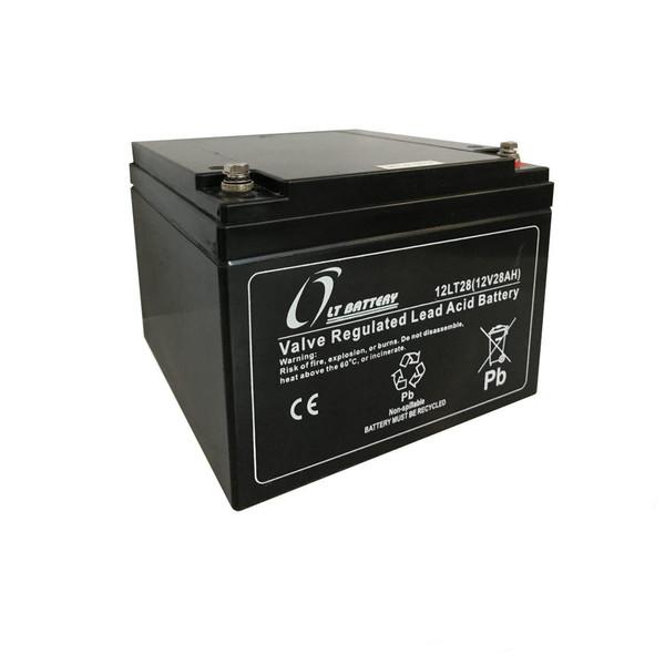 باتری یو پی اس 12 ولت 28 آمپر ساعت ال تی مدل T 12-28