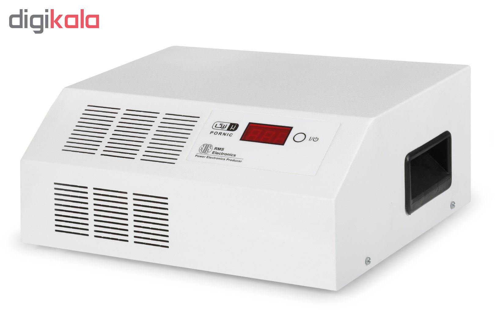 استابلایزر پرنیک مدل ECO-6000 ظرفیت 6000 ولت آمپر