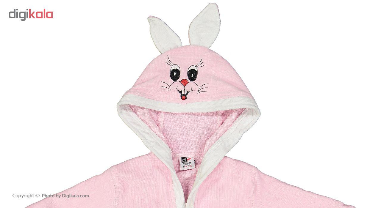 حوله پالتویی نارسیس طرح Rabbit  سایز 60 main 1 3