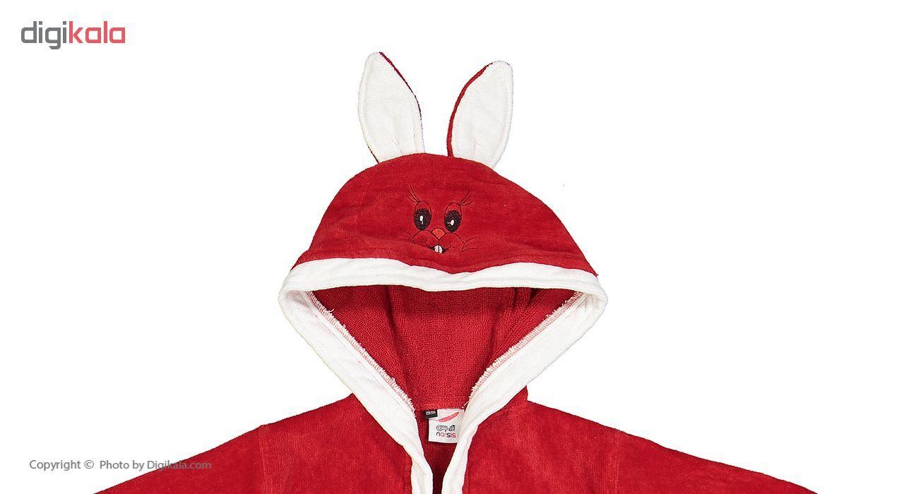 حوله پالتویی نارسیس طرح Rabbit  سایز 60 main 1 9