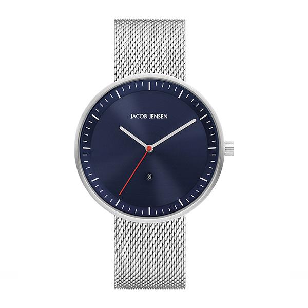 کد تخفیف                                      ساعت مچی عقربه ای مردانه جیکوب جنسن مدل Strata 279