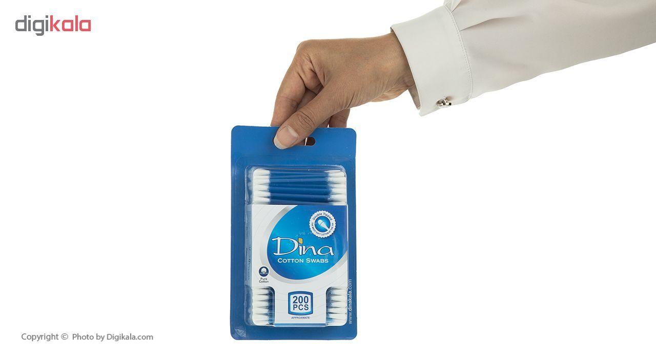گوش پاک کن دینا مدل Blue بسته 200 عددی main 1 4