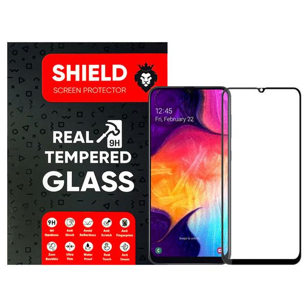 محافظ صفحه نمایش شیلد مدل FG مناسب برای گوشی موبایل سامسونگ Galaxy A50