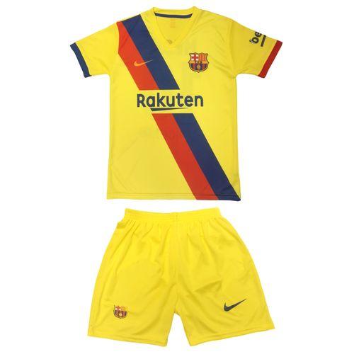 پیراهن و شورت ورزشی پسرانه طرح بارسلونا مدل Barca1-25