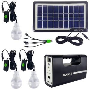 سیستم روشنایی خورشیدی جی دی لایت مدل GD1