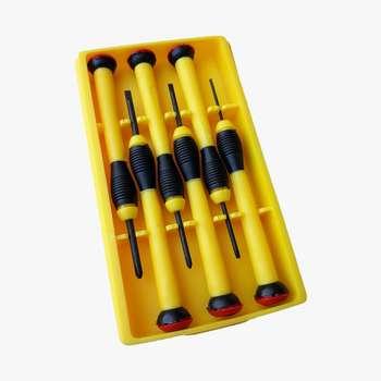 مجموعه 6 عددی پیچ گوشتی ساعتی زینتا مدل T8013