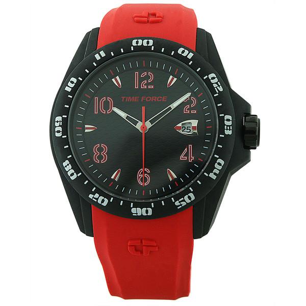 ساعت مچی عقربه ای مردانه تایم فورس مدل TF4195M14