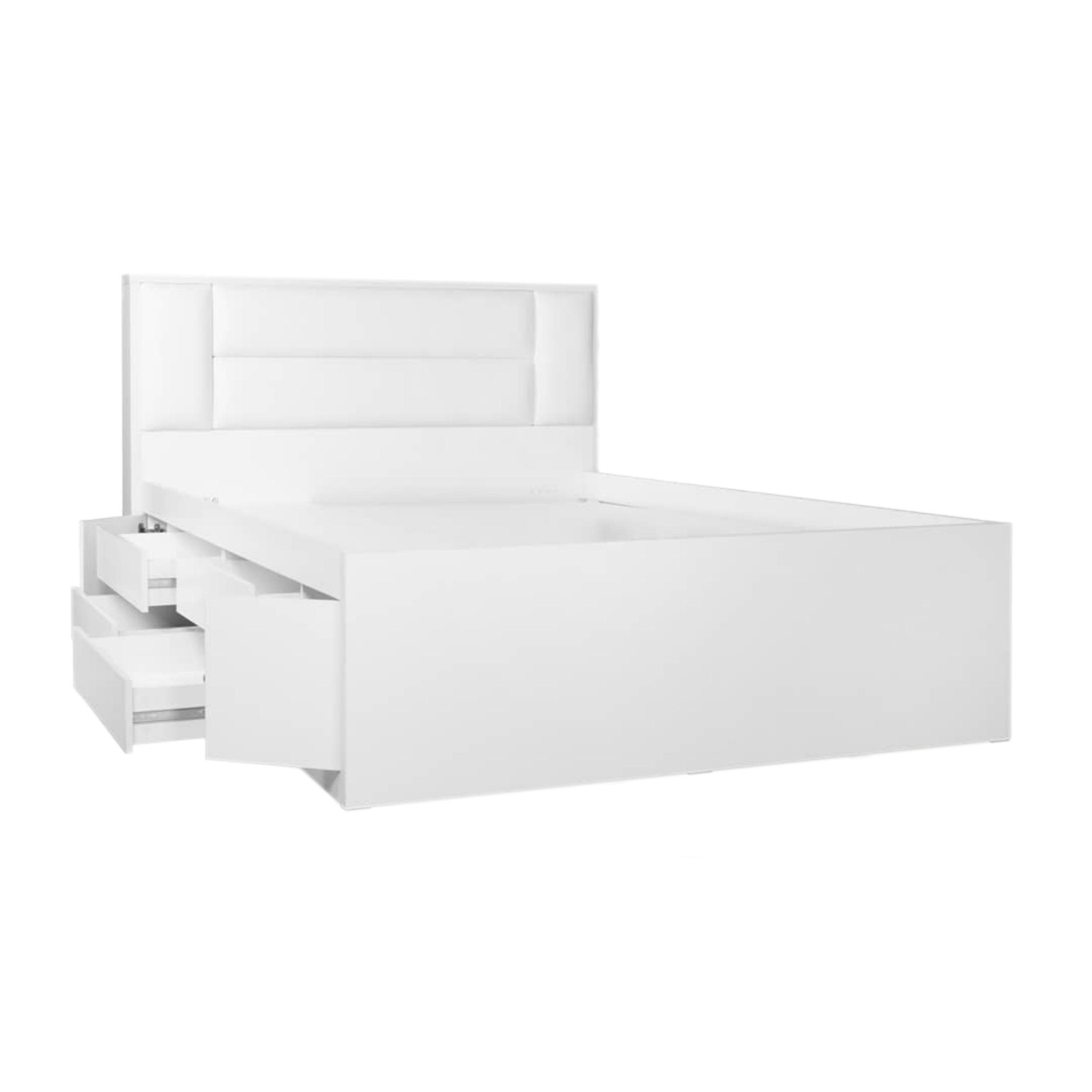 تخت خواب دو نفره کد 1946 سایز 160×200 سانتی متر