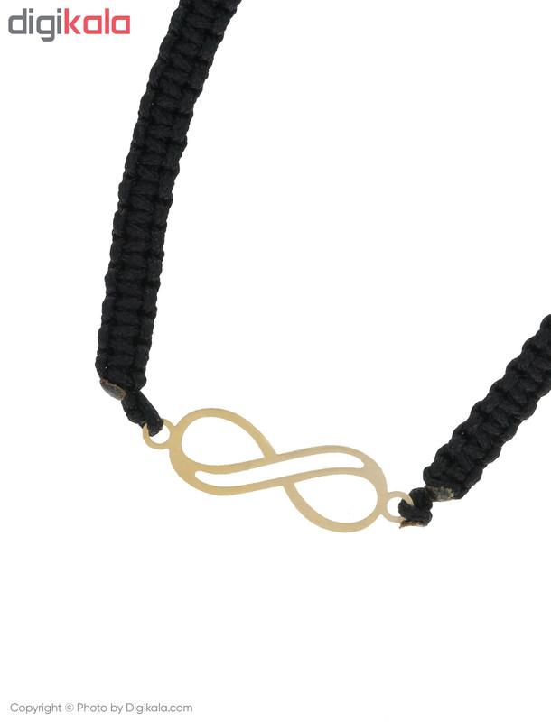 دستبند طلا 18 عیار زنانه میو استار مدل BS189