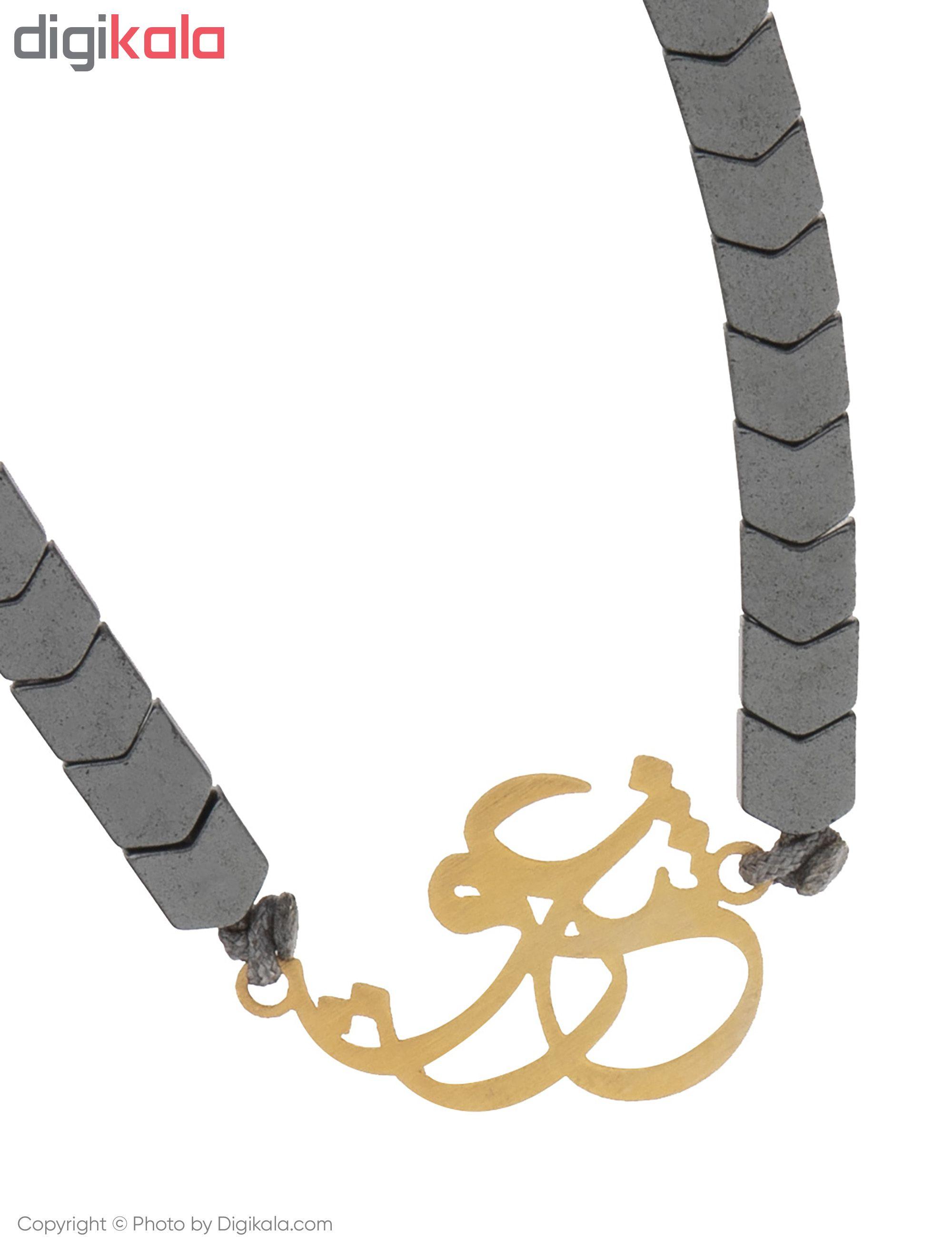 دستبند طلا 18 عیار زنانه میو گلد مدل BS195