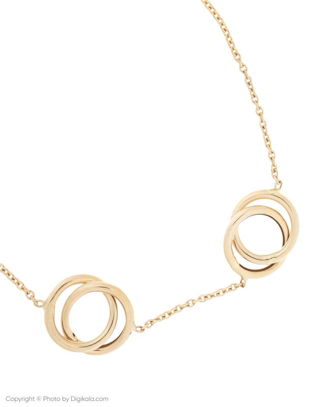 دستبند طلا 18 عیار زنانه میو استار مدل BC62