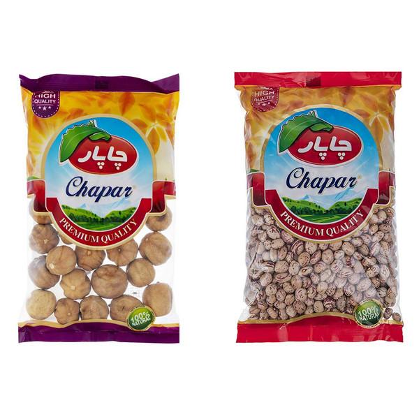 پک لیمو عمانی و لوبیا چیتی چاپار بسته 2 عددی