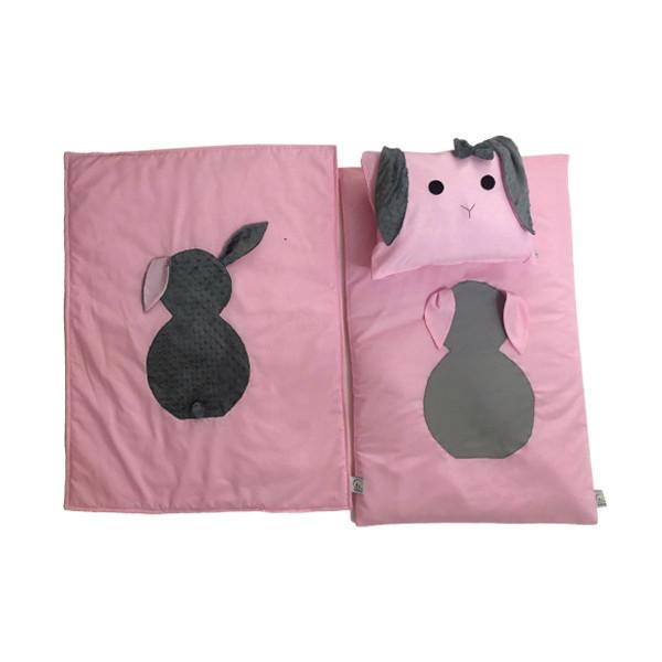 سرویس خواب 4 تکه خواب کودک طرح خرگوش کد980033