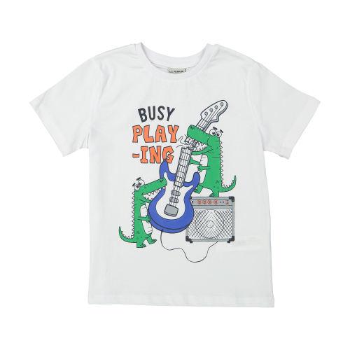 تی شرت پسرانه ال سی وایکیکی مدل 9SV666C4-JYX